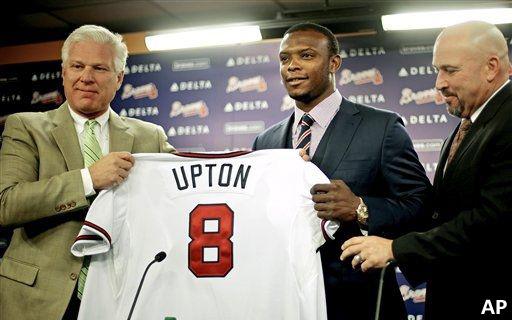 Upton Jersey Presentation
